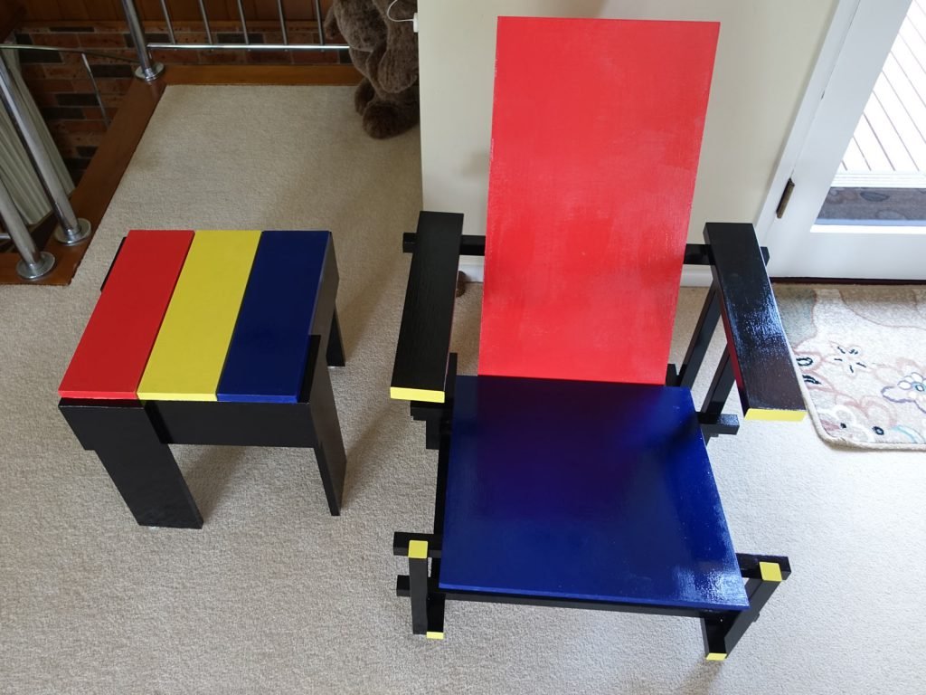 Rietveld Chair & Table